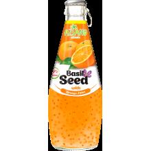 Напиток AZIANO Basil seed Orange Juice, 290ml