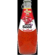 Напиток AZIANO Basil seed  Pomegranate Juice, 290ml