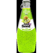 Напиток AZIANO Basil seed Kiwi Juice, 290ml