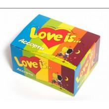 LOVE IS МИКС,100шт