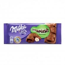 Milka Choqsplash Hazelnut
