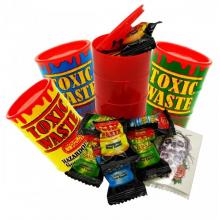 Кислые конфеты Toxic Waste с татуировкой
