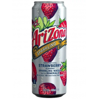 Arizona Sparkling Water + Minerals Strawberry, 355мл