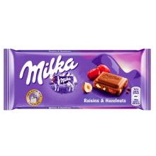Milka Raisins Hazelnut