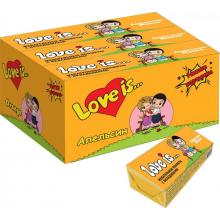 """Жевательные конфеты Love is """"Манго-Апельсин"""" 5шт"""