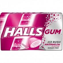Жевательная резинка Halls Ice Rush Watermelon 18 г