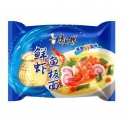 Пшеничная лапша со вкусом морепродуктов Kang Shi Fu, 98гр