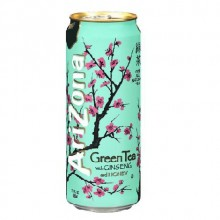Arizona Green tea with ginseng and honey, 340мл