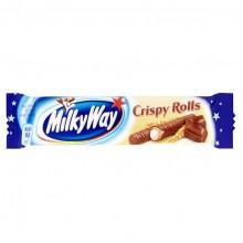 Шоколадный батончик Milky Way Crispy Rolls