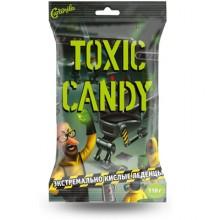 Экстремально кислые леденцы Toxic Candy пакет 110 гр