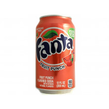Fanta Fruit Punch, Клубника + Арбуз
