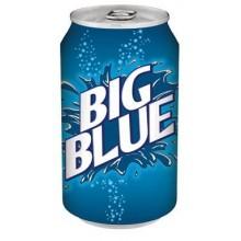 BIG BLUE, синяя газировка
