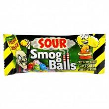 Драже с кислым центром Toxic Waste Smog Balls 48g