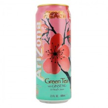 Arizona Green tea Ginseng & Peach Juice, 680мл