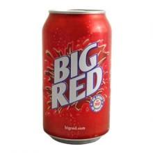 BIG RED, напиток со вкусом жвачки